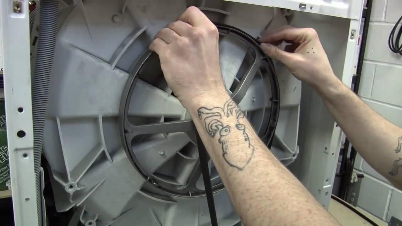 Замена ремня стиральной машины beko своими руками